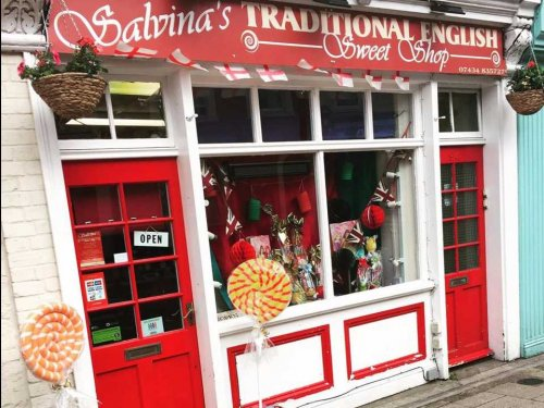 Salvinas Traditional English Sweet Shop