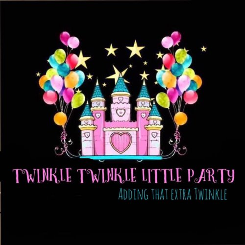 Twinkle Twinkle Little Party Balloon, Party and Character Specialist Logo