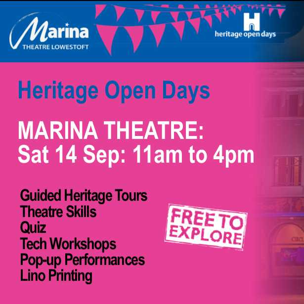 Marina Theatre - Heritage Open Day 2019  Image