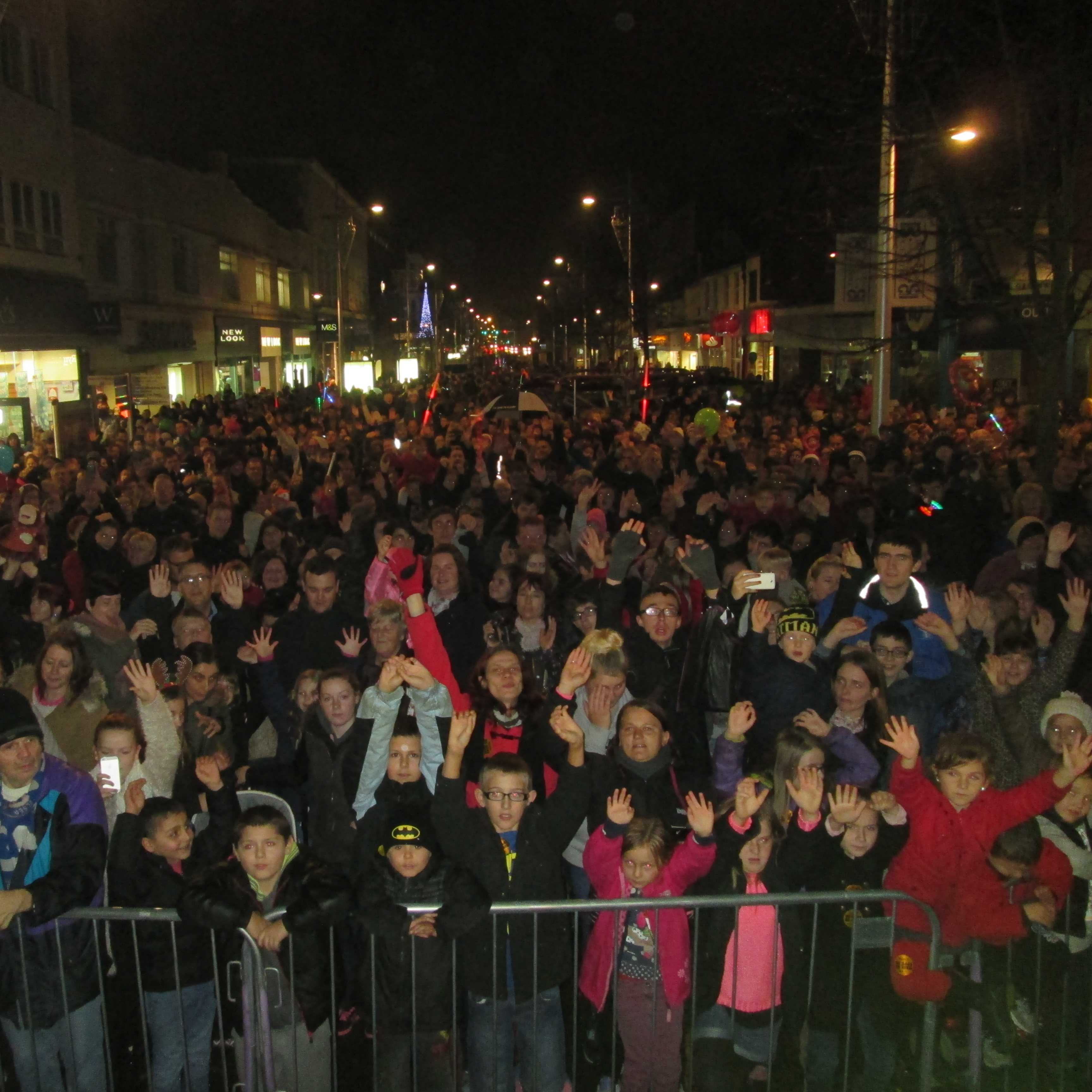 Lowestoft Christmas Lights Switch On