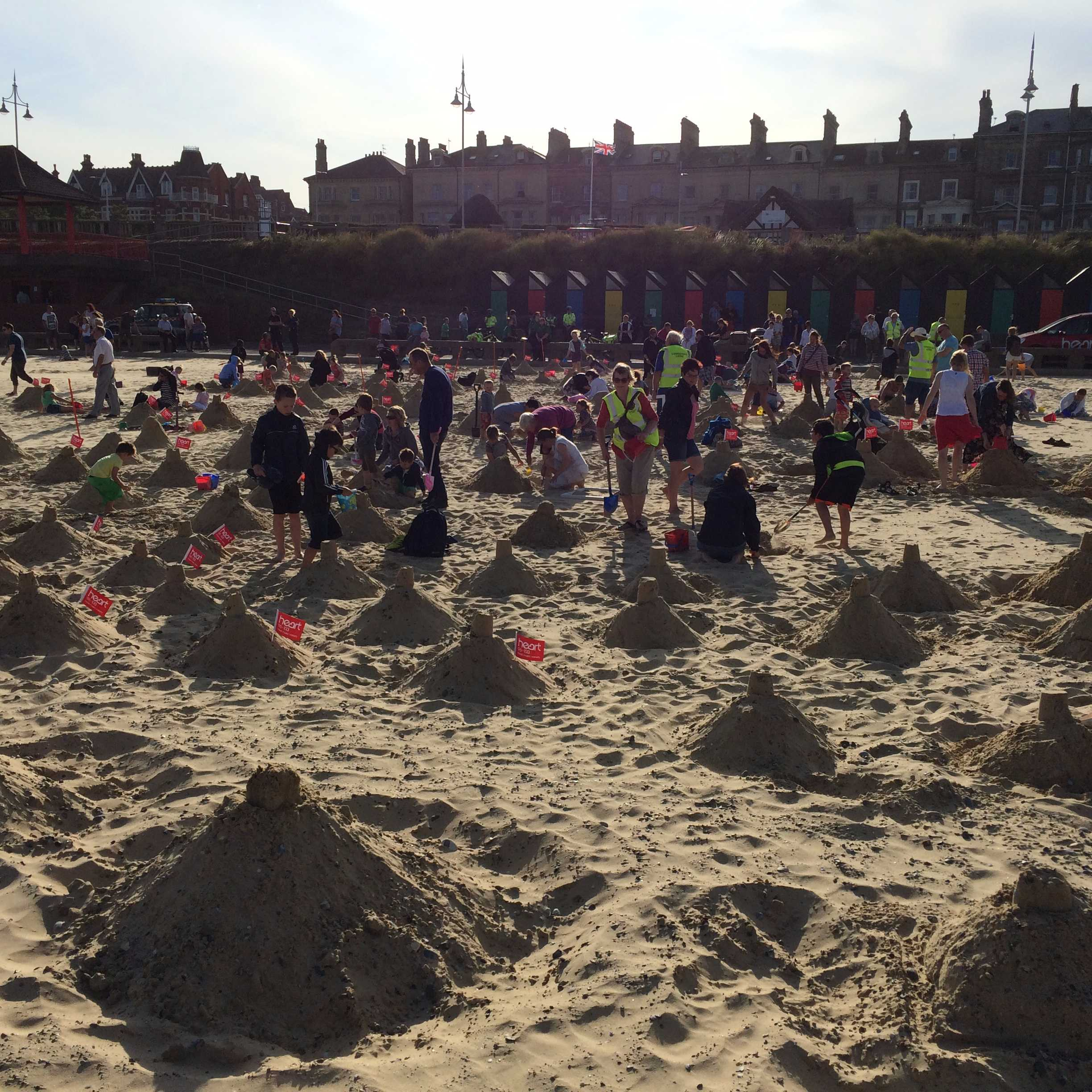 Lowestoft Summer Festival - Sandcastle record attempt Image
