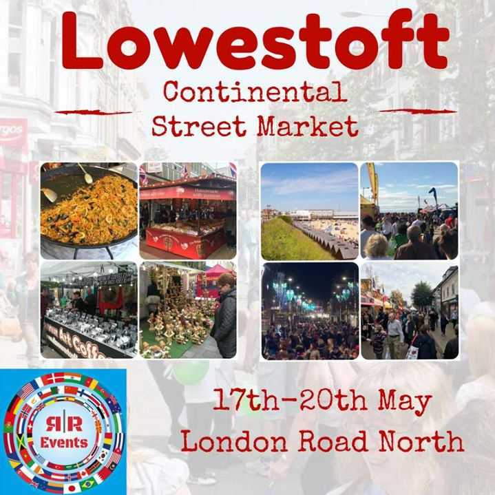 Lowestoft Continental Street Market Image